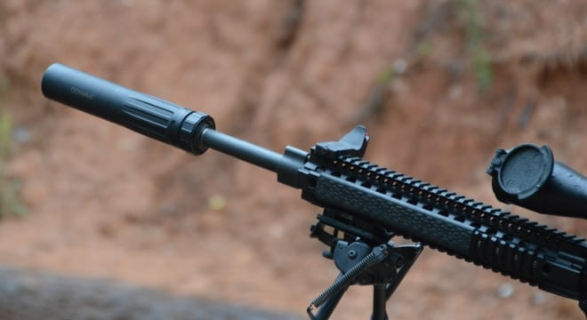 """The Hearing Protection Act may be dropped from the legislation while language addressing bump stocks may be added now that the bill is in a """"sort of a cooling off period"""" after the Las Vegas shooting. (Photo: Chris Eger/Guns.com)"""