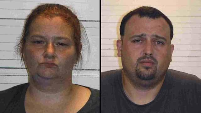 Cara Anderson and Shawn Holland are charged in connection to a drug bust in Caseyville. (Photo: St. Clair County Sheriff)