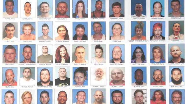 ATF: White supremacists among 70 charged in massive meth bust