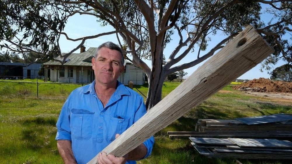 Australian farmer David Dunstan. (Photo: Herald Sun)