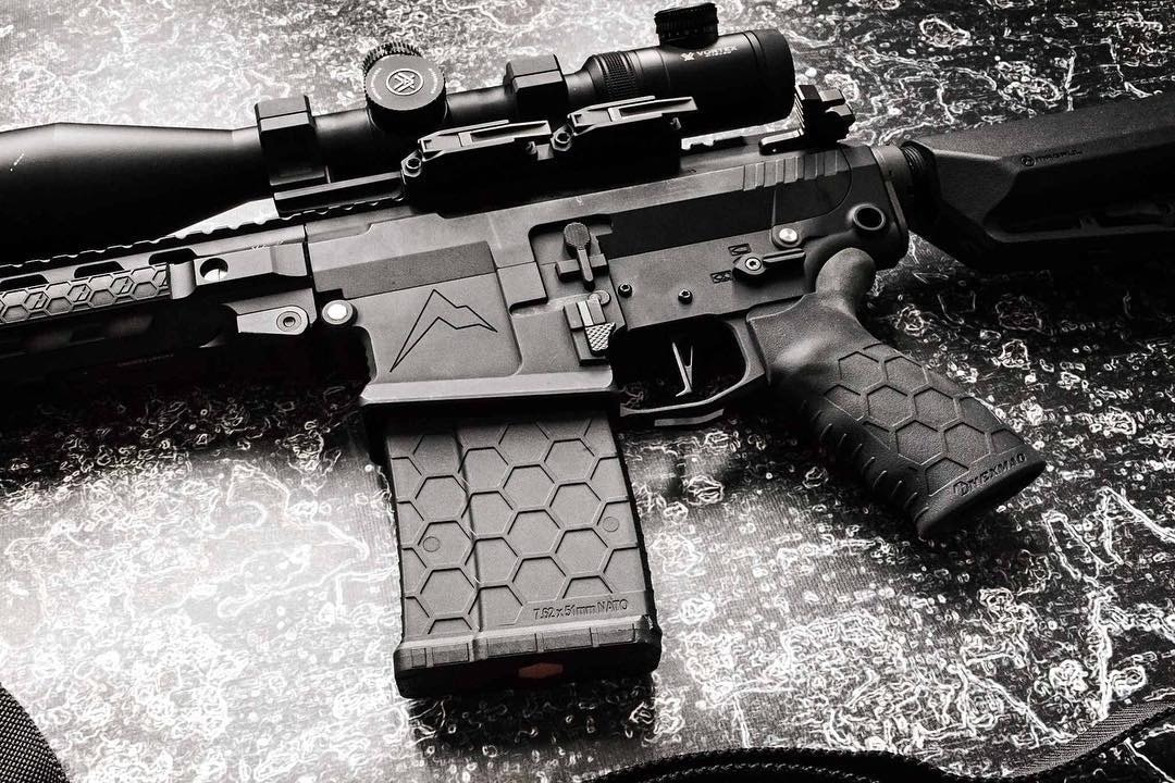 Hexmag is best known for its unique honeycomb mag design. (Photo: Soldier Systems)