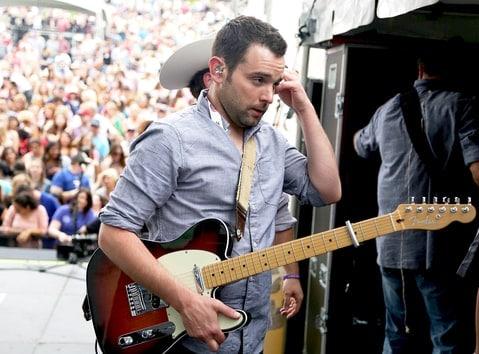 Caleb Keeter, guitarist for The John Abbott Band. (Photo: Sara Kauss/Getty Images)