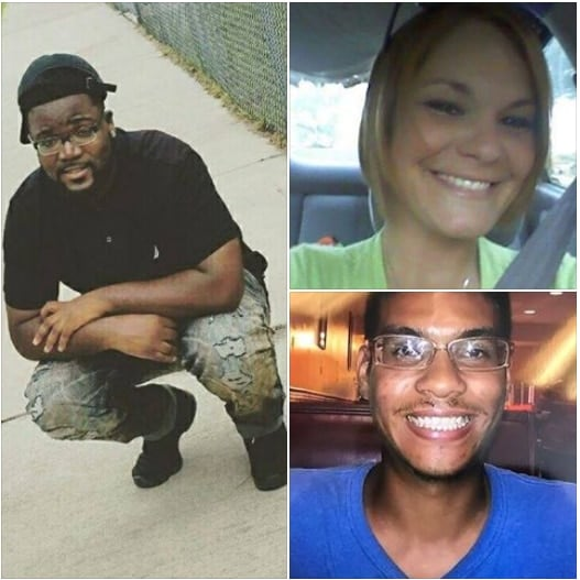 Tampa police believe the shooting deaths of Benjamin Edward Mitchell (left), Monica Caridad Hoffa (top right) and Anthony Naiboa (bottom right) are linked. (Photo: Crime Stoppers of Tampa Bay/Facebook)