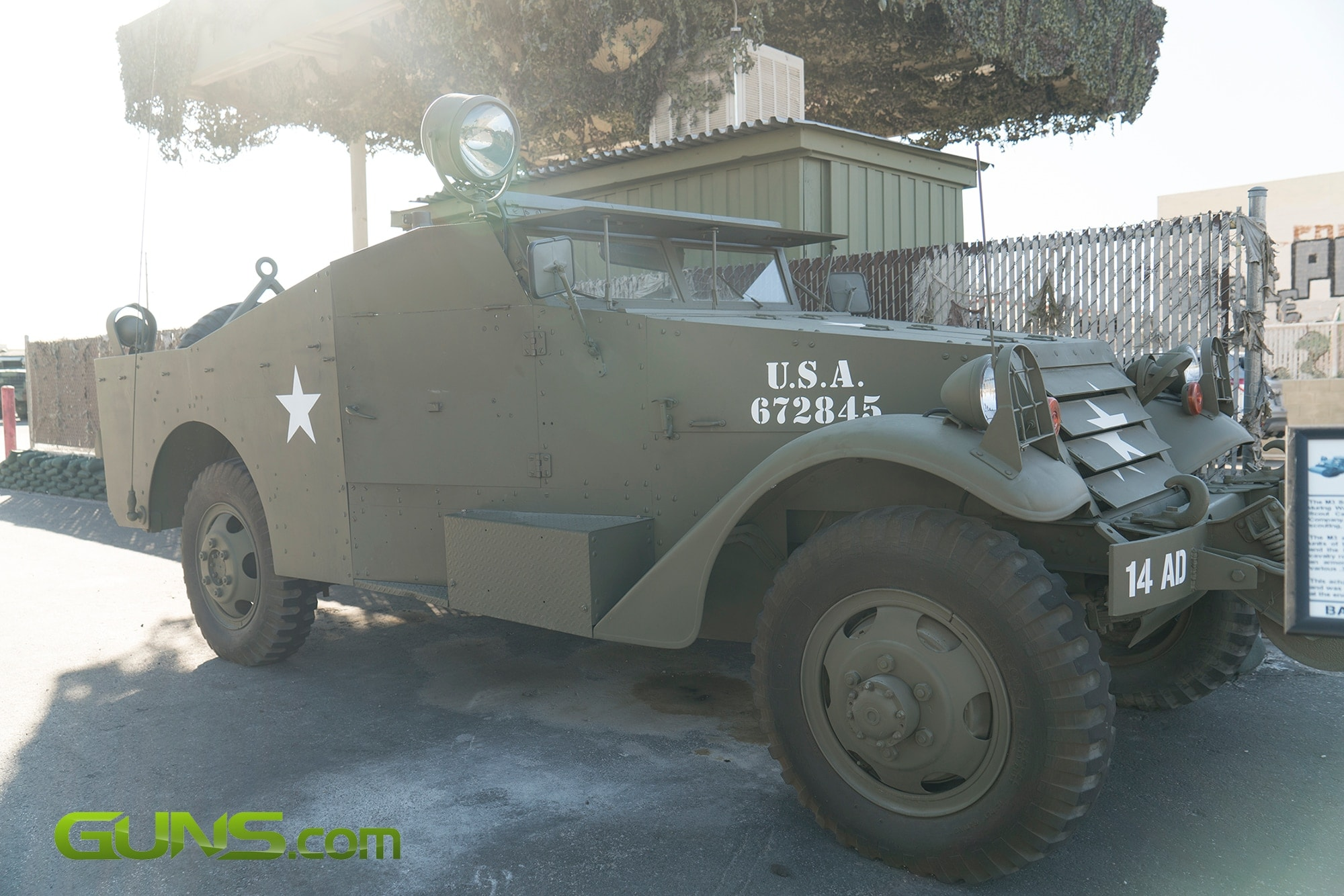 M3A1 Armored Scout Car