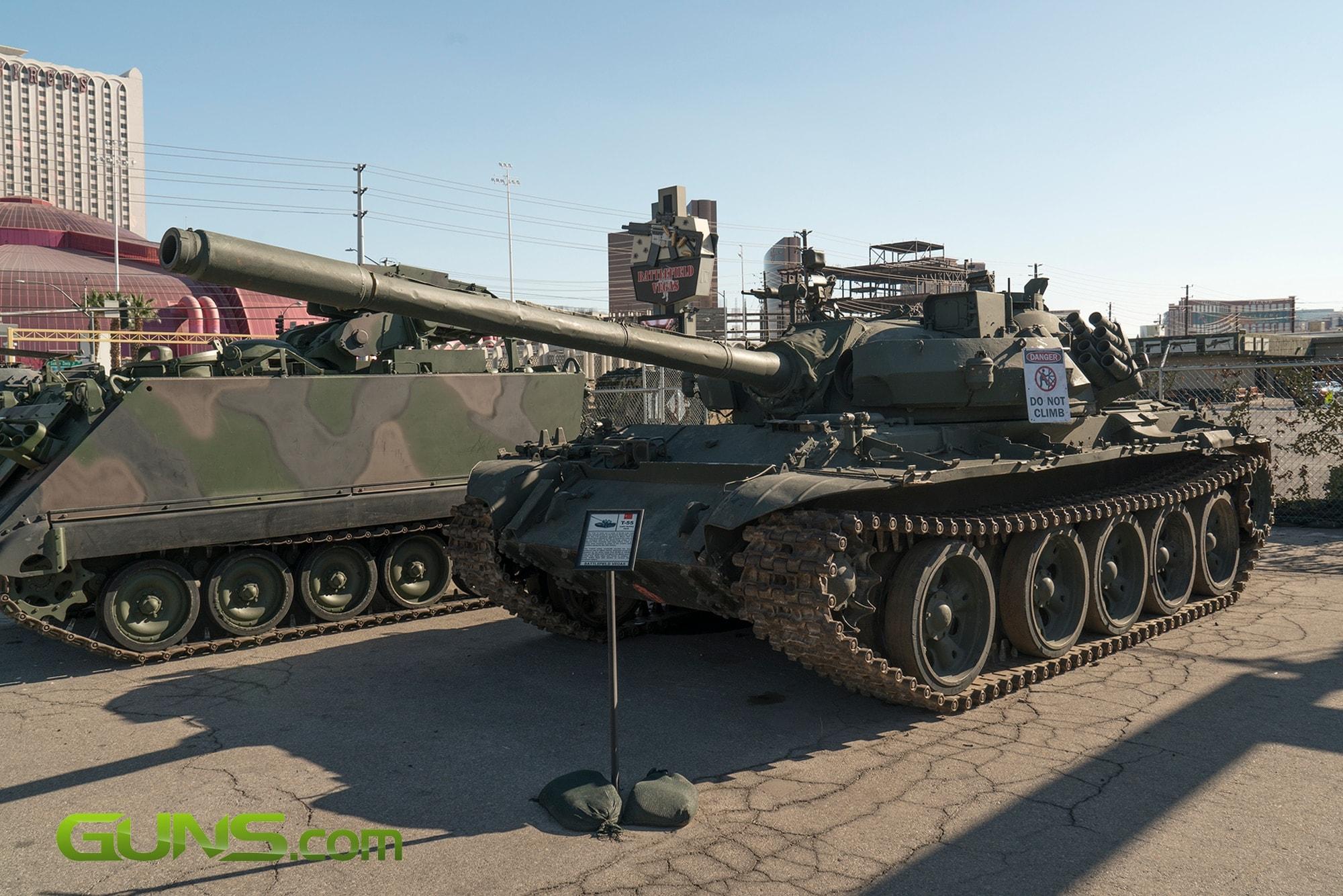 Russian T-55