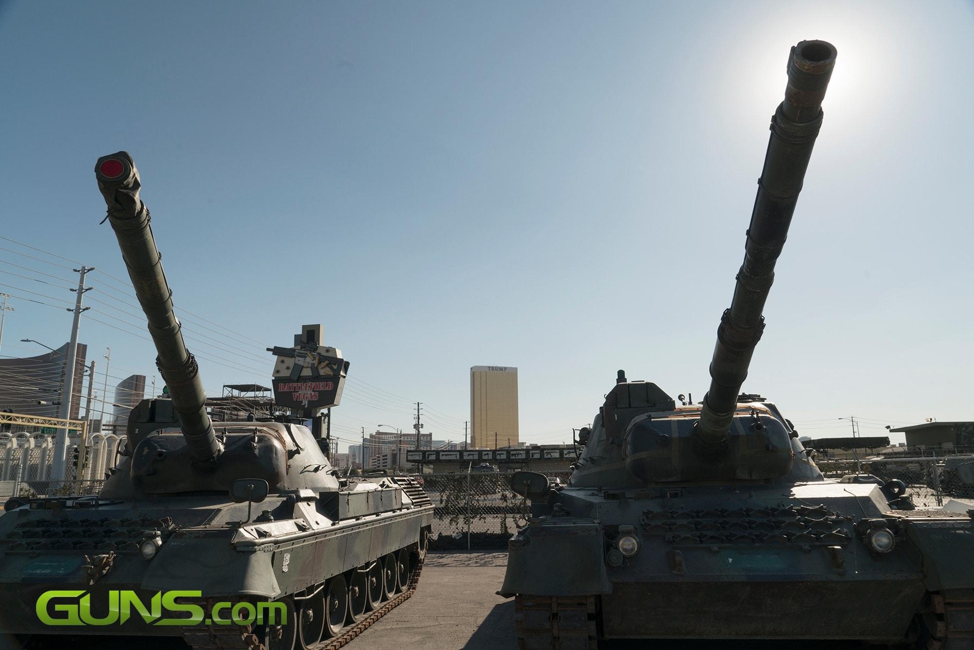 German Leopard 1 MBT tanks