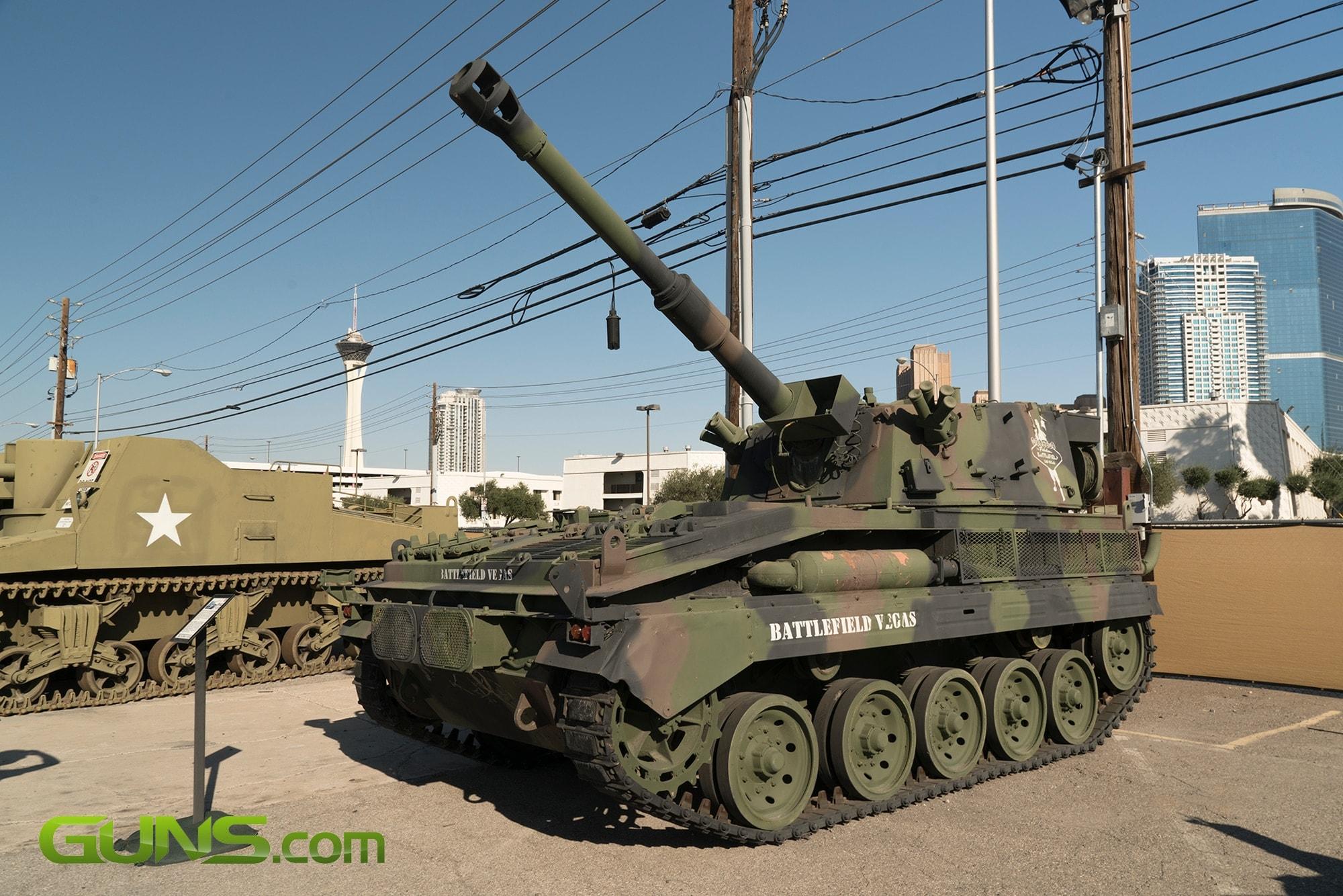 British FV433 Self Propelled Artillery
