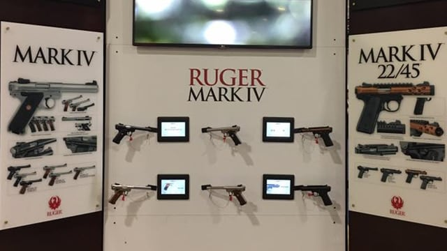 Chief Executive Officer Chris Killoy told investors Wednesday new products -- including the Mark IV pistols, the Precision Rifle and the LCP pistol -- generated $118.8 million of the company's $404 million in sales through the first nine months of the year. (Photo: Ruger/Facebook)