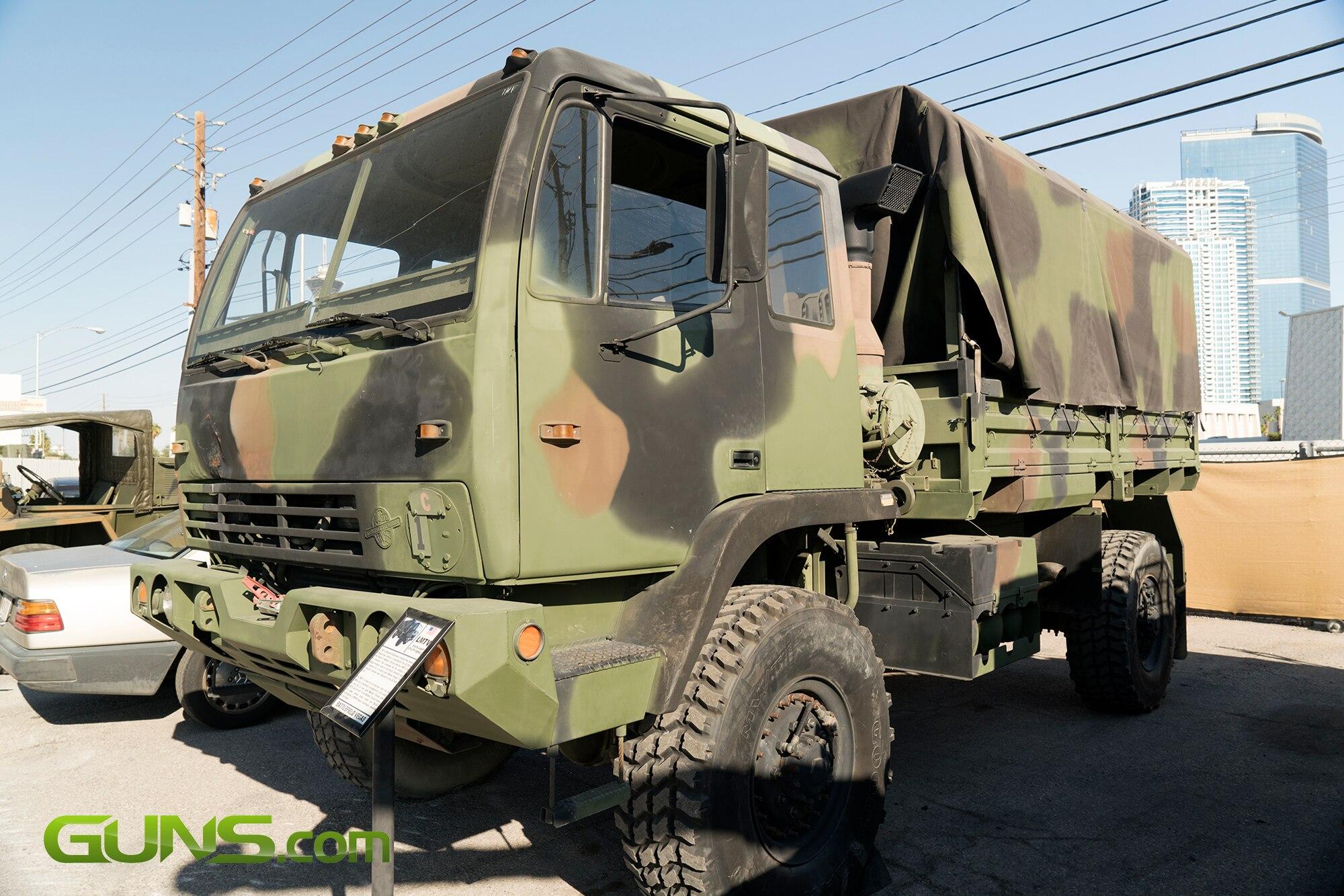 U.S. LMTV M1078 Light Utility Vehicle