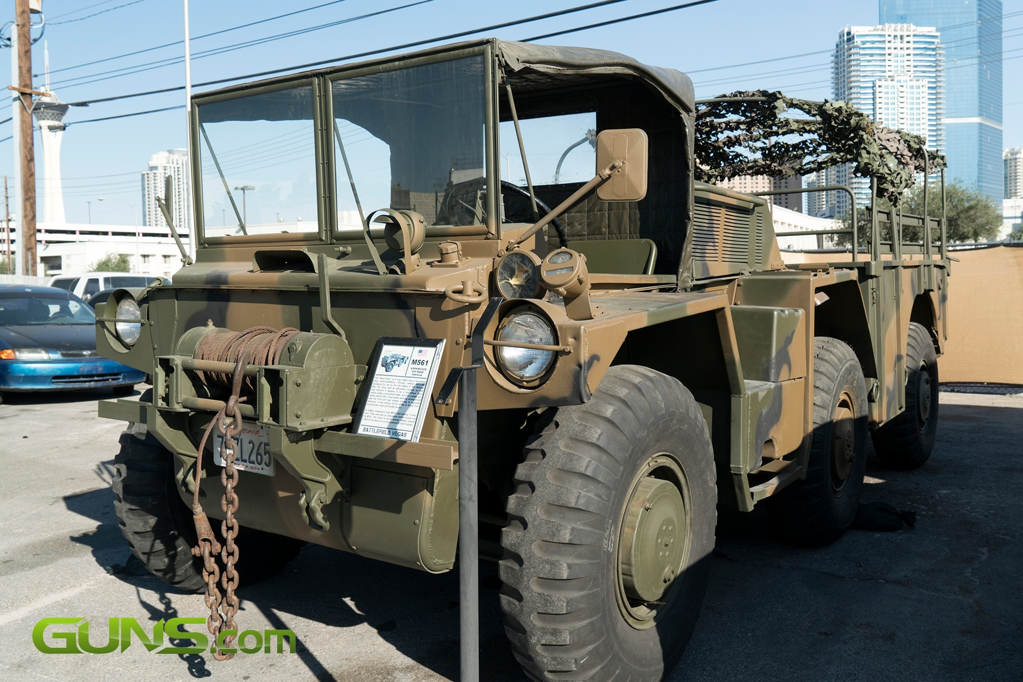 U.S. M561 Amphibious Off-Road Vehicle