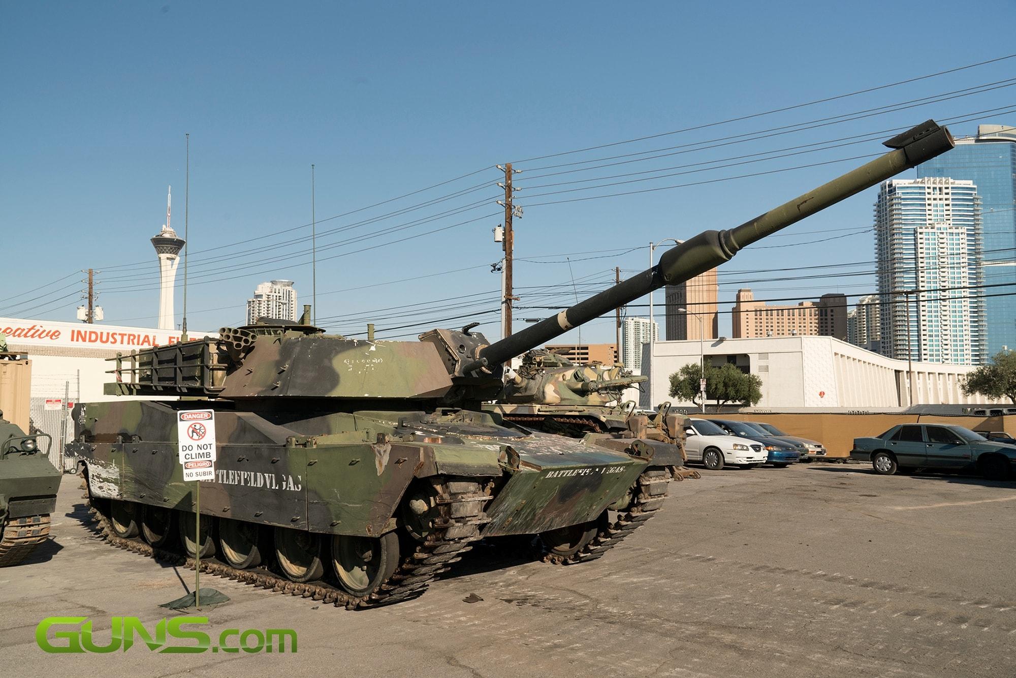 U.S. M1A1 Abrams tank