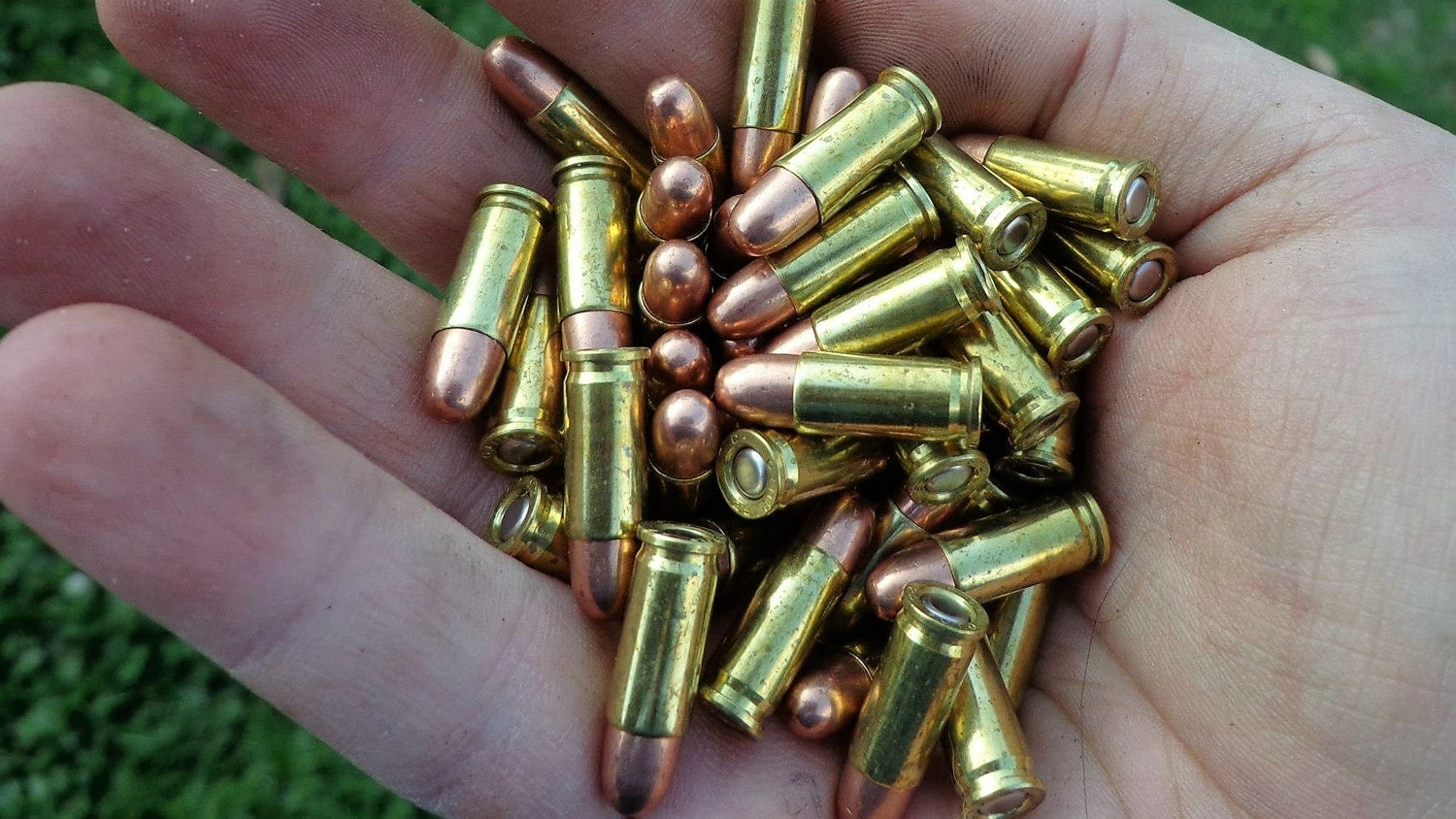 The 25 ACP is tiny. A box of fifty goes right into my hand. The relative low power of the round had very little to do with its demise. (Photo: Terril Herbert)
