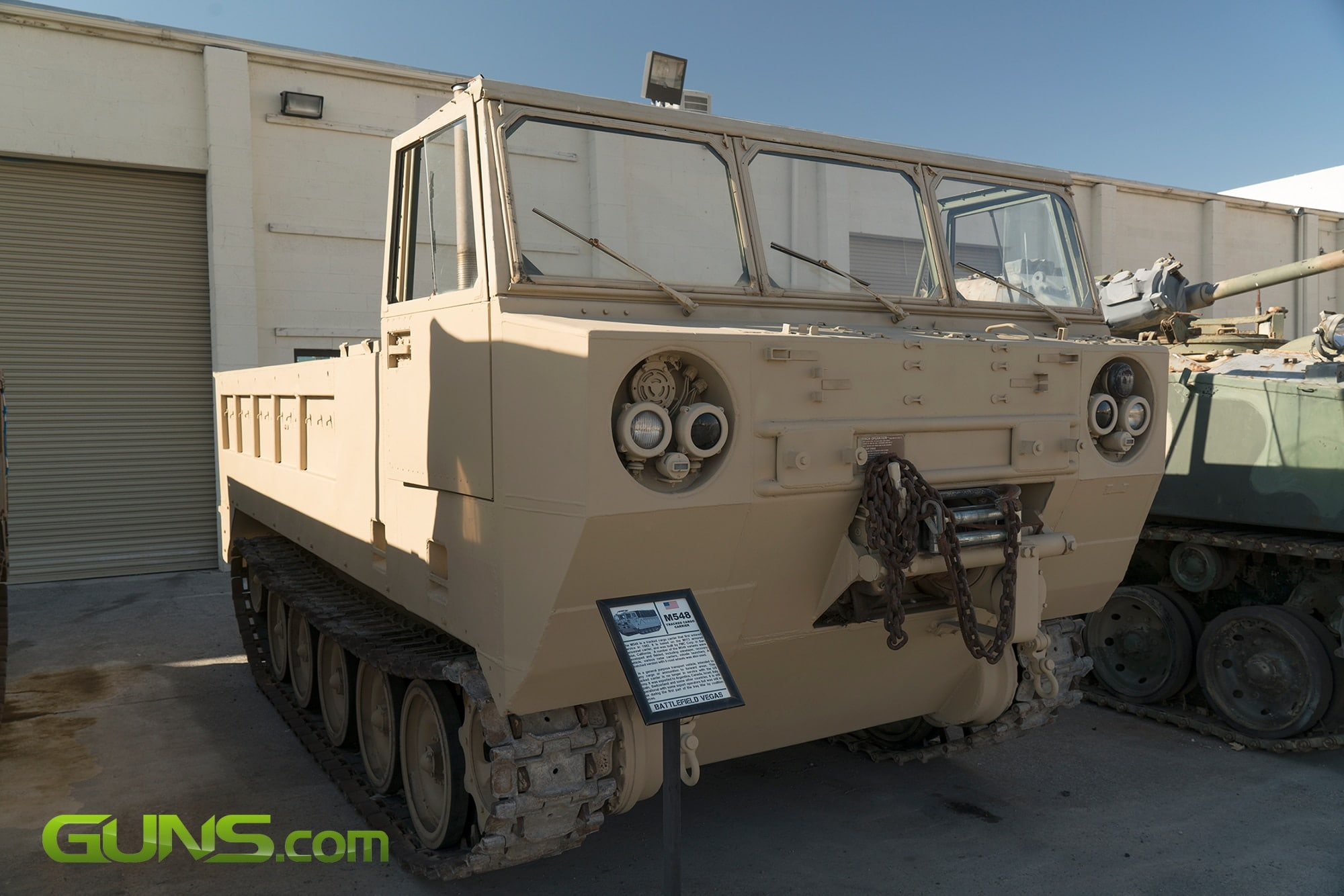 U.S. M548 Tracked Cargo Carrier
