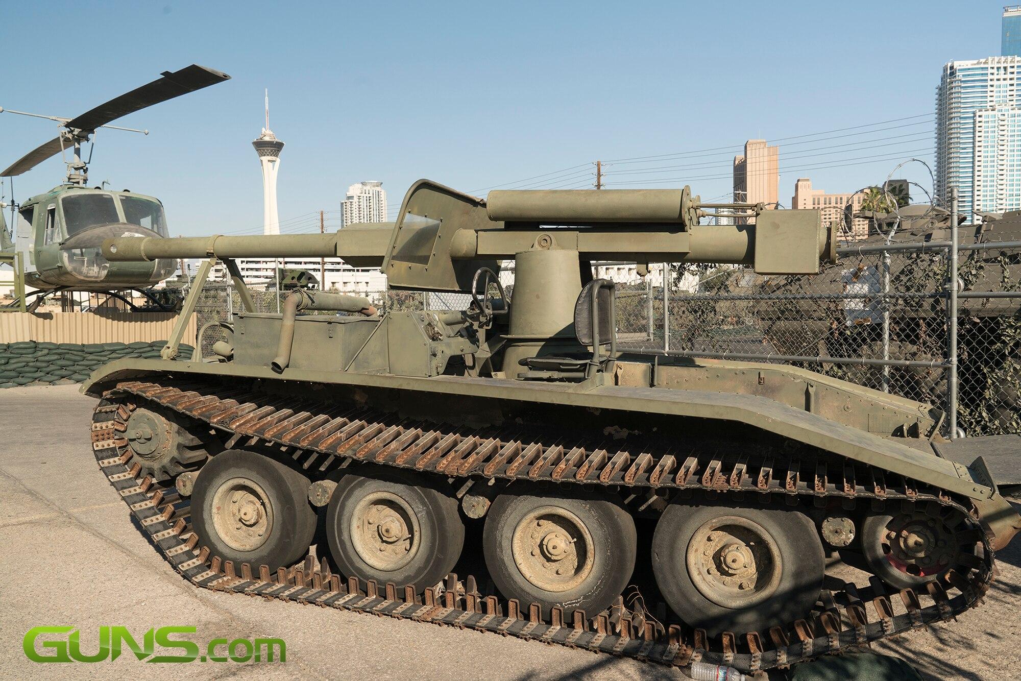 U.S. M-56 Self Propelled Anti-tank Gun