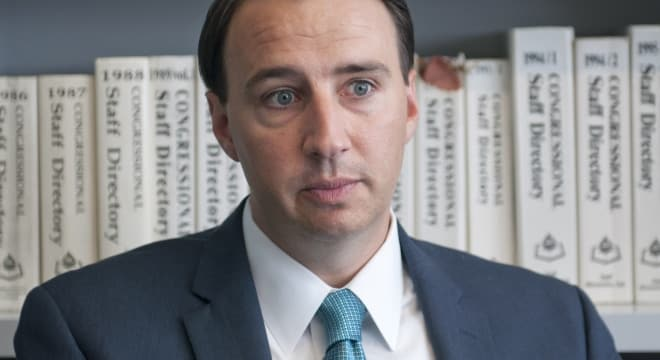 Pennsylvania Republican Ryan Costello is sponsoring a bill that would encourage states to add more of their domestic violence abusers to the federal database of prohibited firearms possessors. (Photo: VISTA)