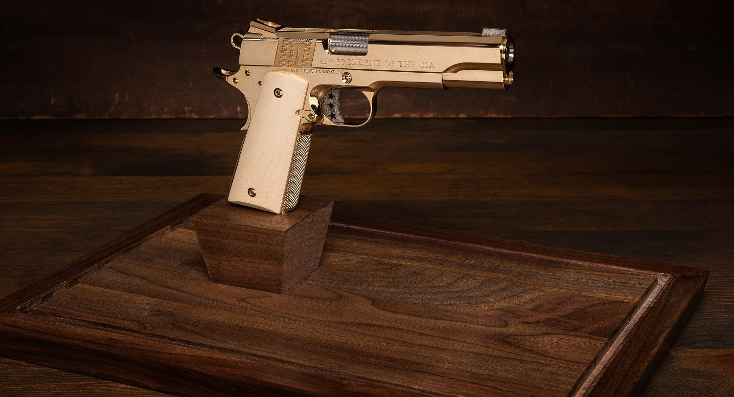 Prices for the 44 guns that will be made available from the run are expected to range from $15,000 to $50,000 depending on the appeal of the serial number to individual buyers and organizations. (Photo: Cabot)