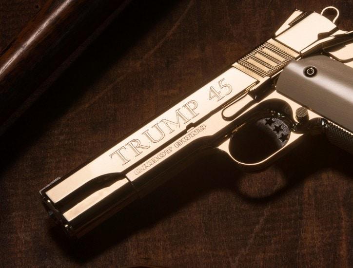 Cabot Guns marketing small batch of 'Trump' model heirloom-quality 1911s s