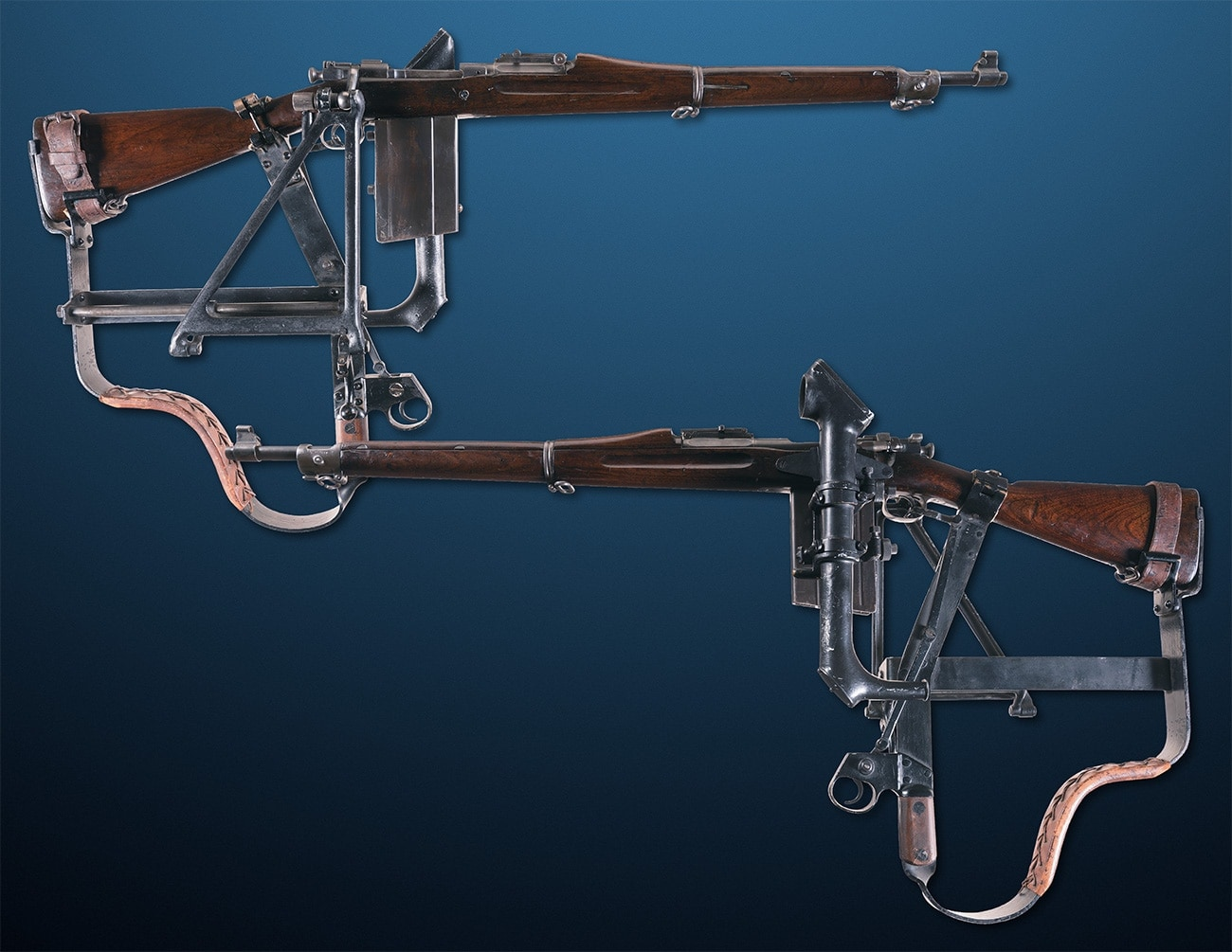 Exceptionally Rare World War I Experimental Cameron-Yaggi M1903 Springfield Trench Rifle with Periscope Sighting Device 7