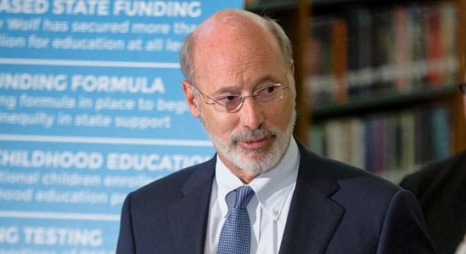 Gov. Tom Wolf (D) supports a move that would tighten Pennsylvania's guidelines for how those convicted of domestic abuse charges turn in their guns. (Photo: Gov. Wolf's office)