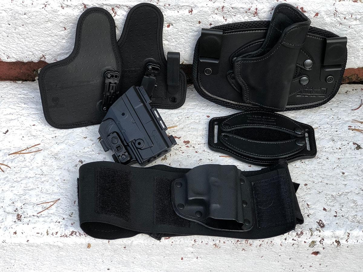 Modular holsters (Photo: Jacki Billings)