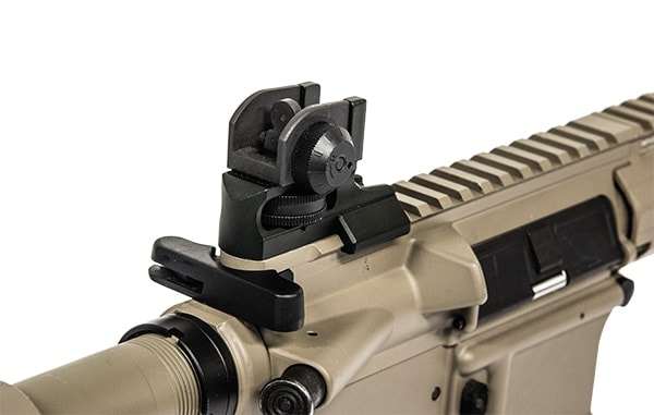 The AR15 Super Slim Rear Sight offers fixed sight capabilities on the AR platform. (Photo: Leapers)
