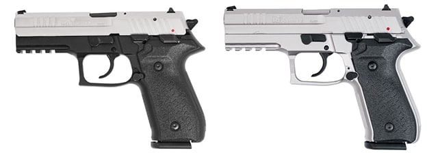 Rex pistols will now offer nickel plated options. (Photo: FIME Group)