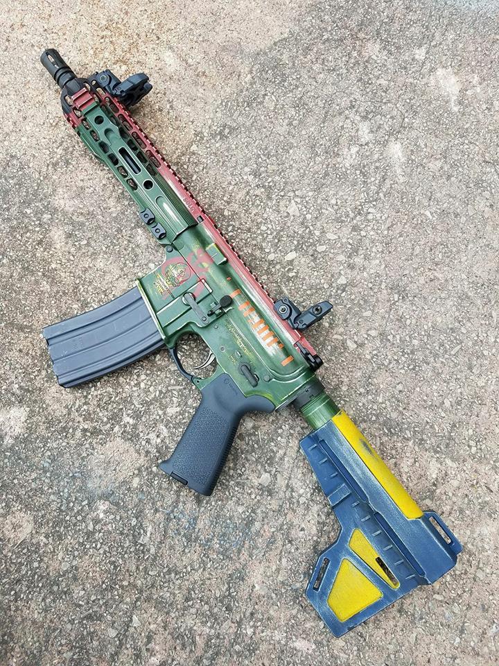 SOLGW Mandalorian Boba Fett EE-4 blaster