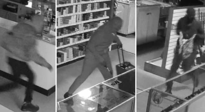 The ATF and NSSF have teamed up to offer a $10,000 reward for information on those who broke into Kinsey's. (Photo: Northwest Regional Police Department)