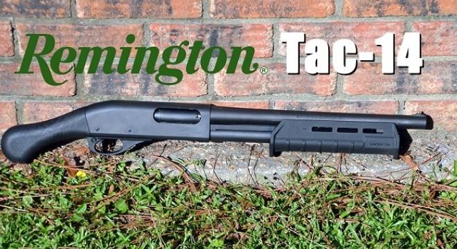 Review: Remington's Tac-14 12-gauge non-NFA 'firearm' (VIDEO)