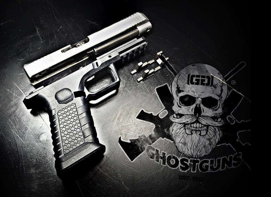 "Ghost Guns produces and sells several ""80 percent"" kits for AR-15 and AK-type platforms as well 1911, Glock and Sig-series pistols to include jigs, slides and tools. (Photo: Ghostguns.com)"