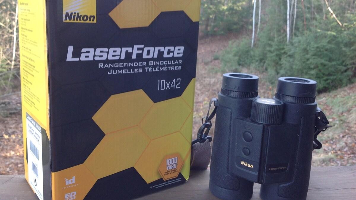 Nikon Laserforce rangefinding binoculars
