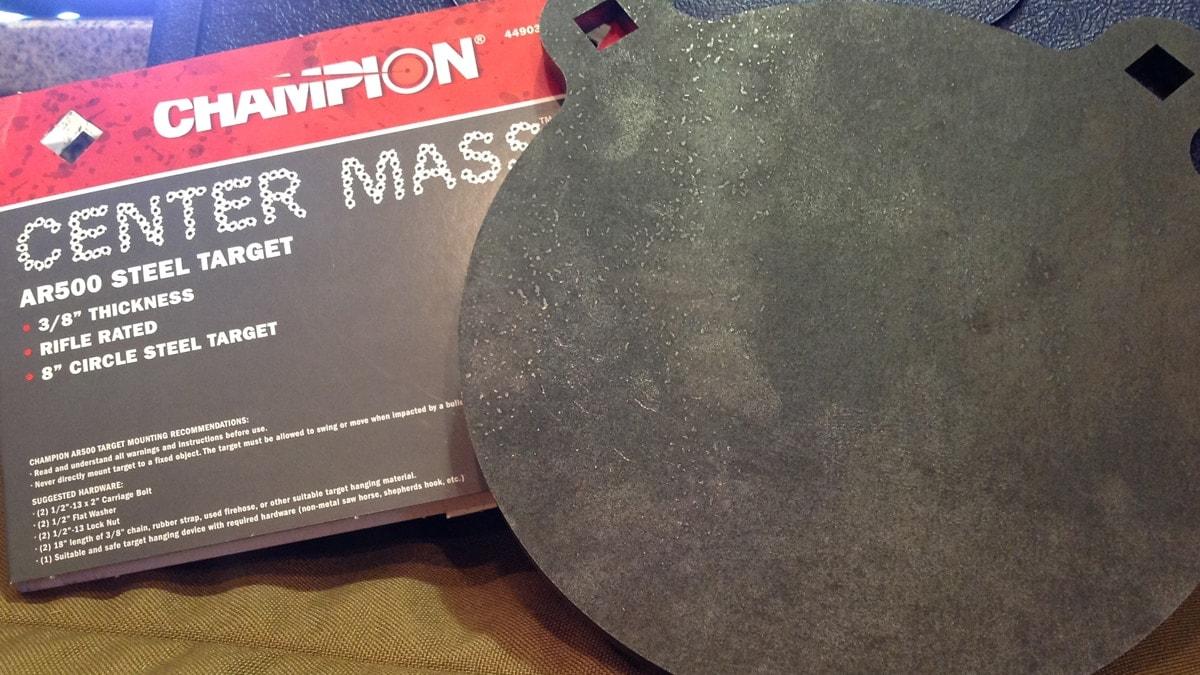 Champion Center Mass Steel Targets