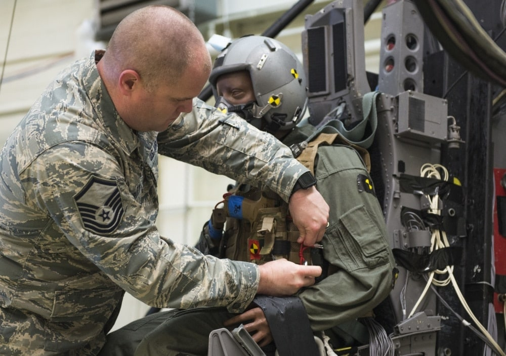 Air Force testing M17 pistol safety with ejection seats (PHOTOS) 2