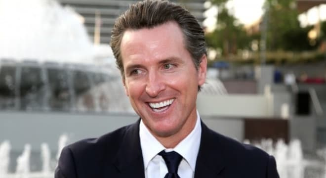 California Lt. Gov. Gavin Newsom, the former San Francisco mayor running as a Democratic candidate for governor next year, backed Prop. 63 which criminalizes the private transfer of ammo in the state. (Photo: California Political Review)