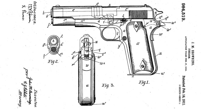 John Browning's .45ACP semi-auto was adopted by the U.S. Army on March 29, 1911, and the service's largest remaining stocks of vintage Model 1911s may soon be made available to the public-- with some strings attached.