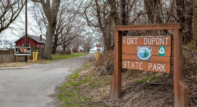 The 350 acres comprising Fort DuPont State Park are some of the 23,000 controlled by the Delaware Department of Natural Resources and Environmental Control. (Photo: DREC)