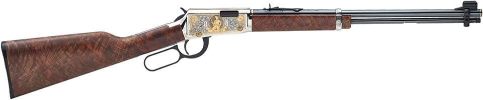 The rifle has ben dolled up for auction to include (Photo: Henry Repeating Arms)