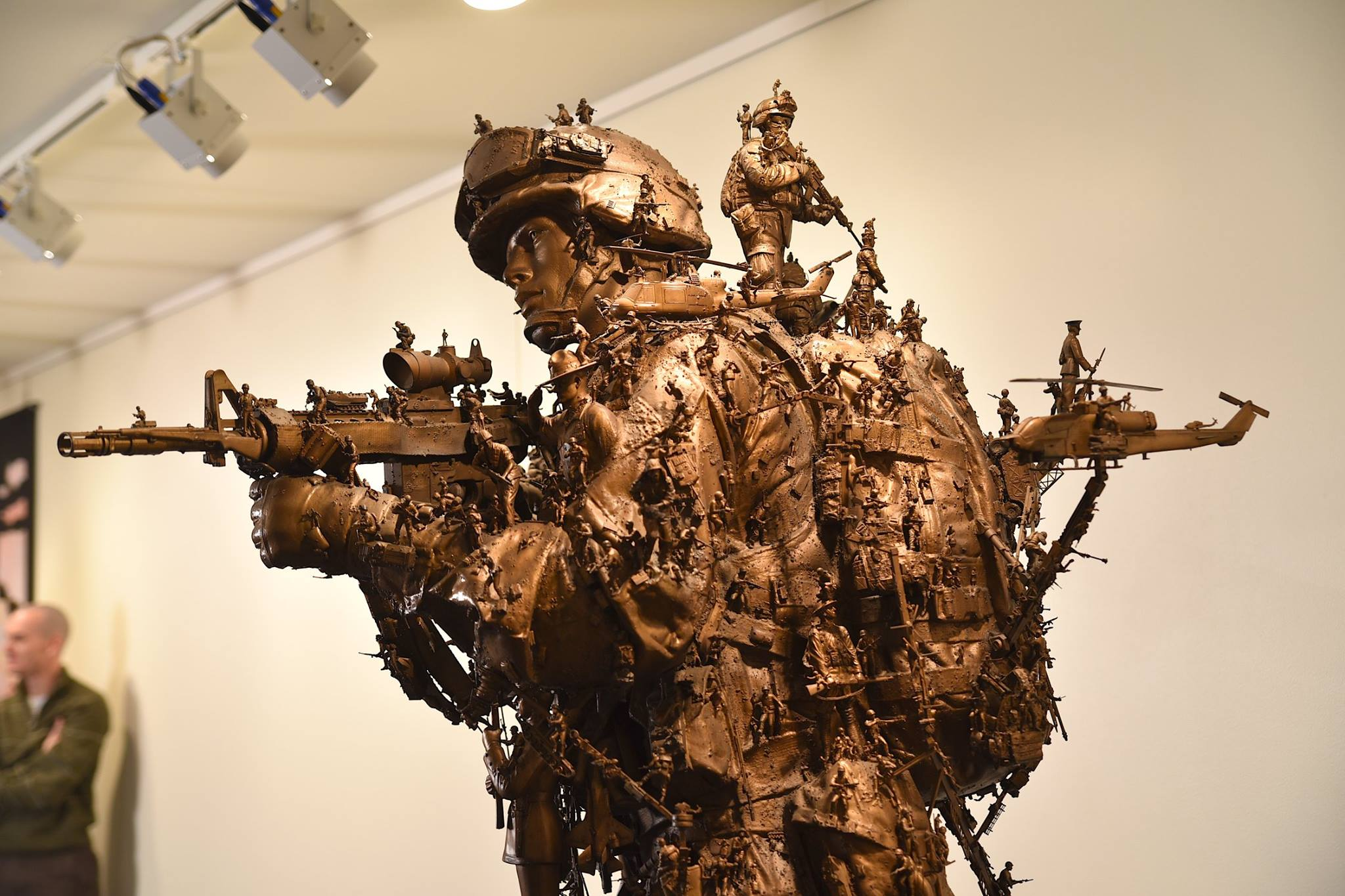 Marine Corps Museum puts intricate 'Battles Won' sculptures on display (PHOTOS) 2