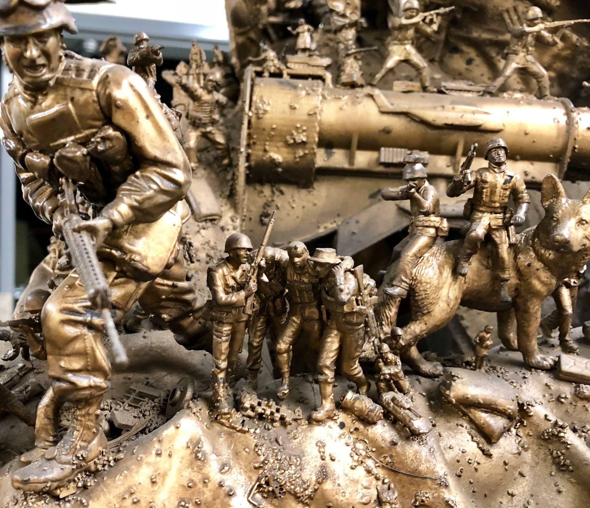 Marine Corps Museum puts intricate 'Battles Won' sculptures on display (PHOTOS) 3