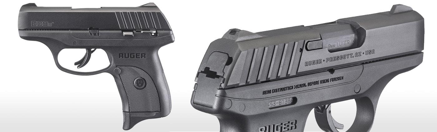 Ruger's new EC9s is in the same size envelope as the S&W M&P9 Shield 2.0 and the G43, but has a $299 MSRP. (Photo: Ruger)