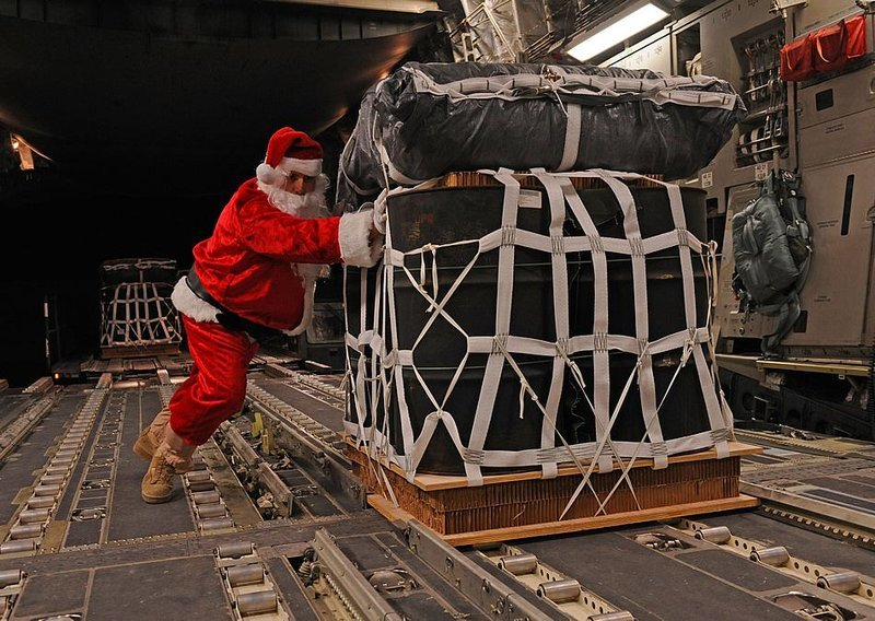 Santa C-130 christmas