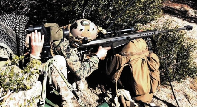 The State Department recently approved a $41 million deal for Barrett sniper rifles to Ukraine. (Photo: Barrett)