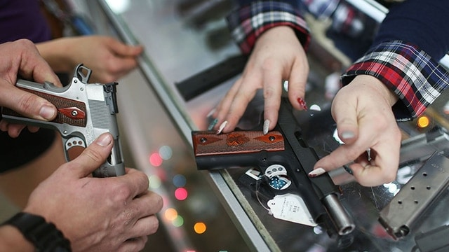James Debney, chief executive officer of American Outdoor Brands -- the gun maker's holding company -- said Thursday the promotional activity undercutting earnings even strengthened in some categories, despite hopes industry-wide the rock-bottom prices would lift by now. (Photo: Getty Images)