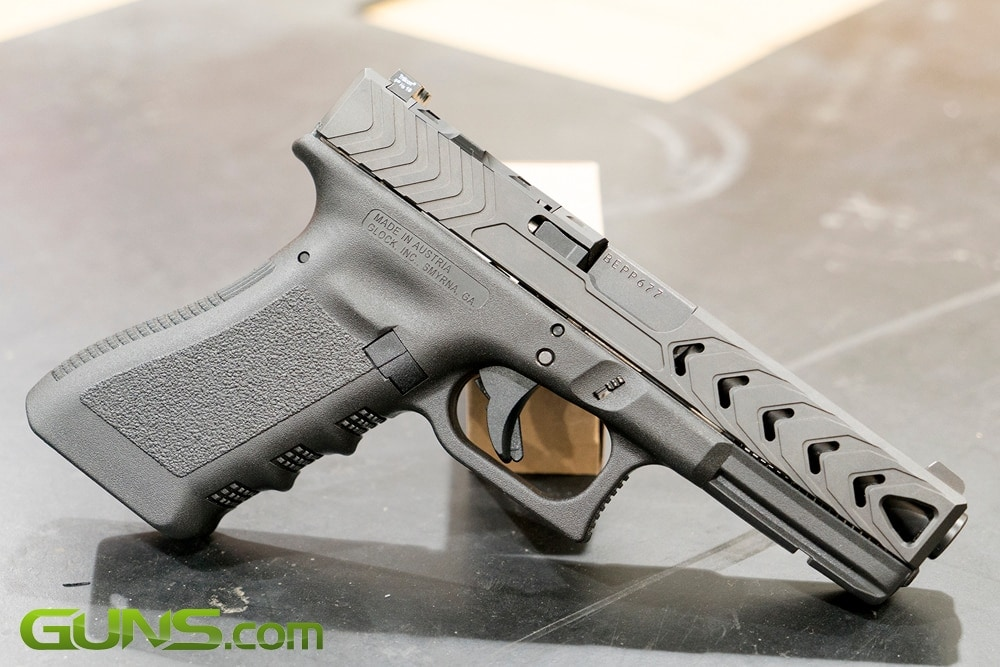 POF-USA's G-Series Gentlemen's Slide on a Glock 17. (Photo: Ben Philippi / Guns.com)