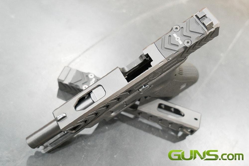 POF-USA's G-Series Gentlemen's Slide. (Photo: Ben Philippi / Guns.com)