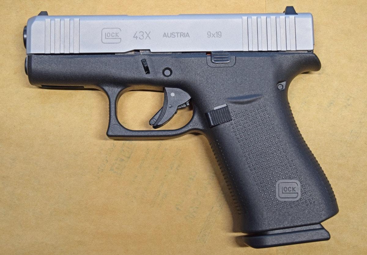 Glock 43x, handgun, pistol