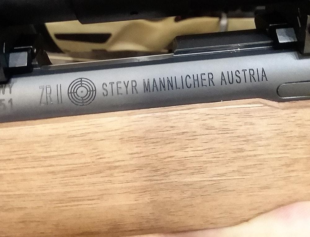 The guns are manufactured in Austria.