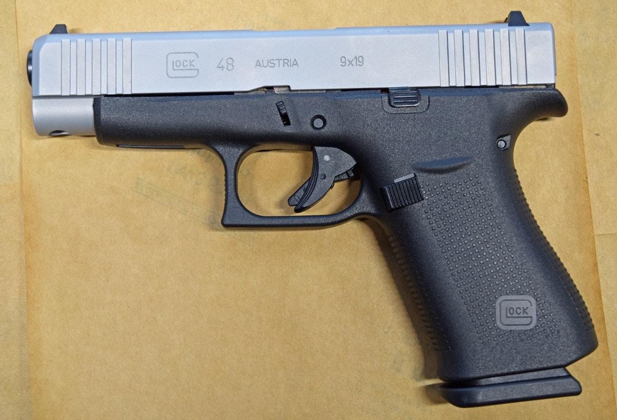 Glock 48, handgun