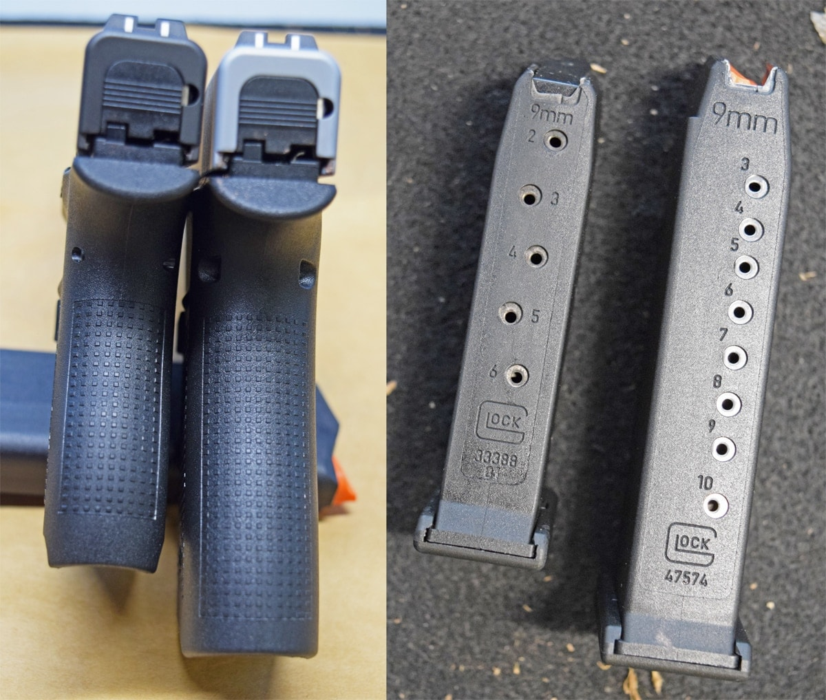 Glock 43, Glock 43x, handgun