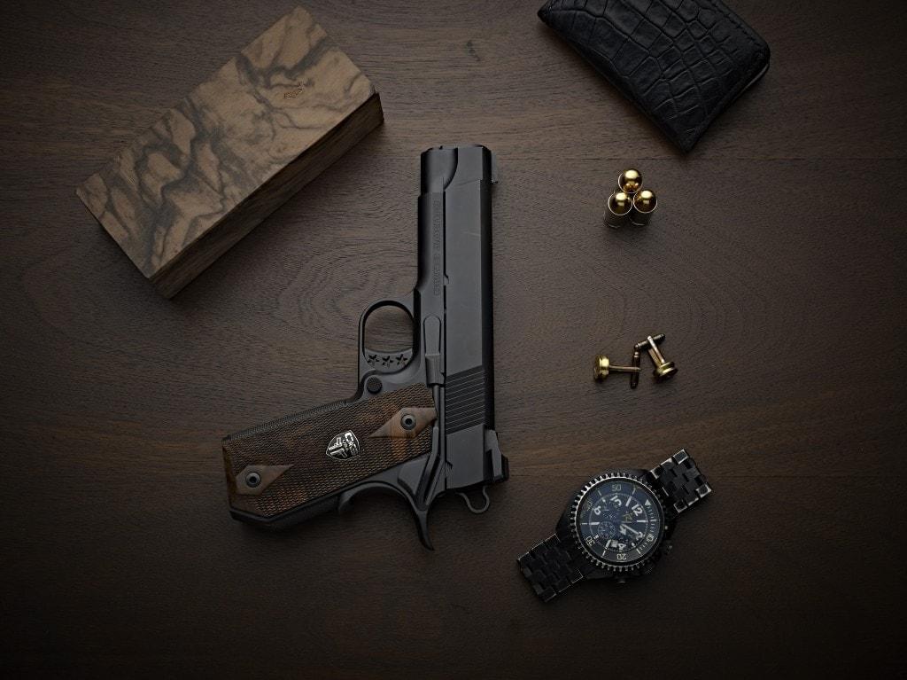Cabot Guns shows off new Gentleman's Carry 1911, Empire Damascus set (VIDEOS)